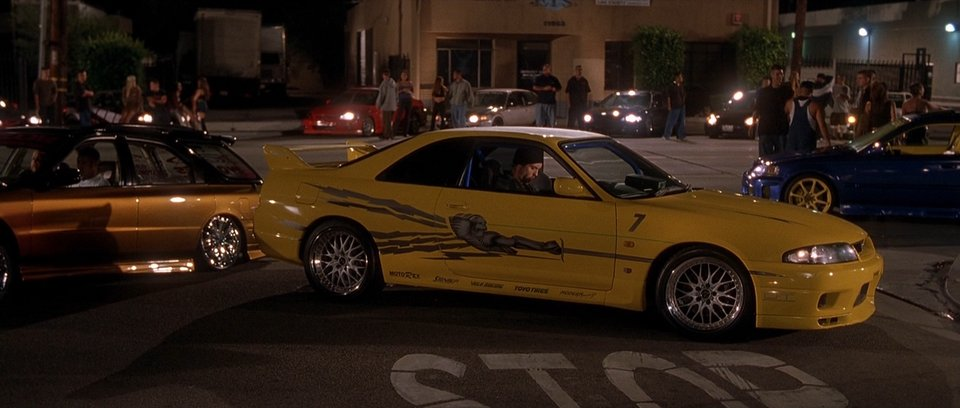 1995 Nissan Skyline GT-R R33, The Fast and Furious 2001