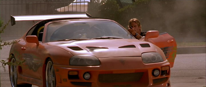 1995 Toyota Supra JZA80, The fast and the Furious