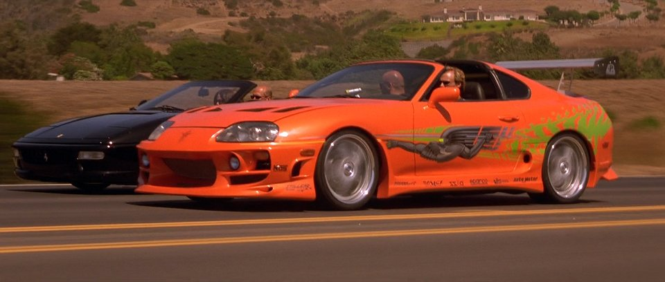 1995 Toyota Supra JZA80, The Fast and the Furious 2001