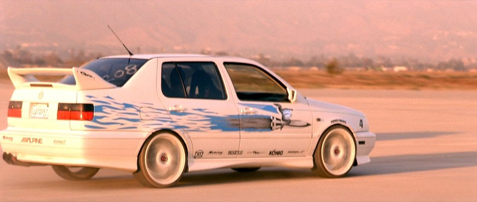1995 Volkswagen Jetta A3 Typ 1h, The Fast and the Furious 2001