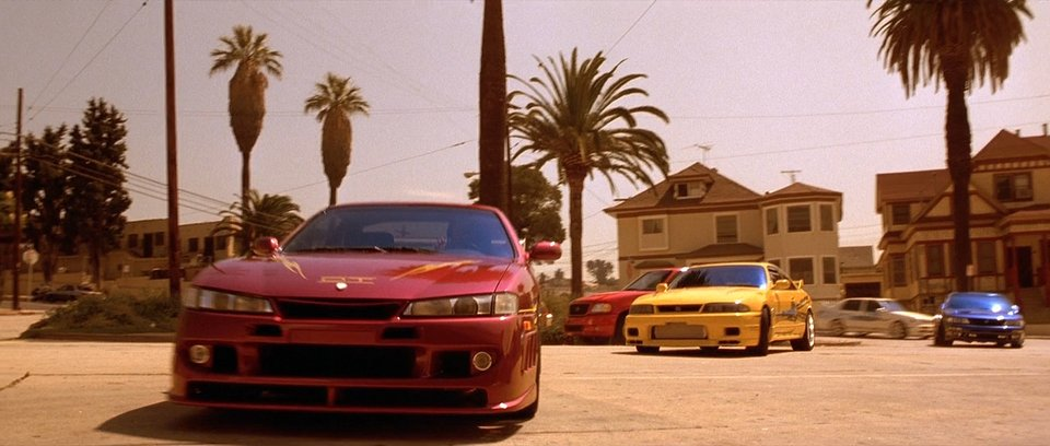 1997 Nissan 240SX S14, The Fast and the Furious 2001