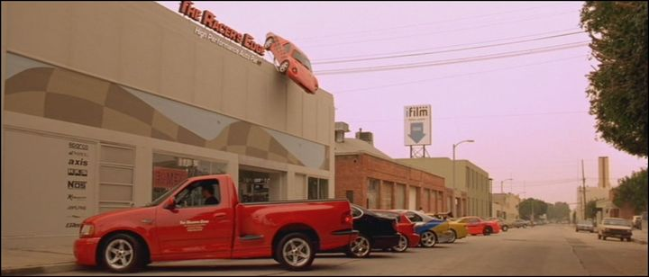 1999 Ford F-150 SVT Lightning, The fast and the Furious