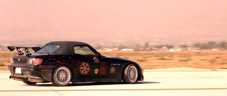 2000 Honda S2000 AP1, The Fast and the Furious 2001