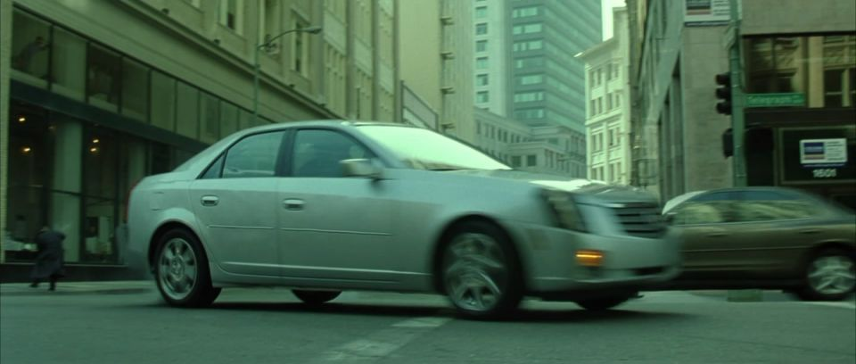 2003 The Matrix Reloaded 2003 Cadillac Cts Best Movie Cars