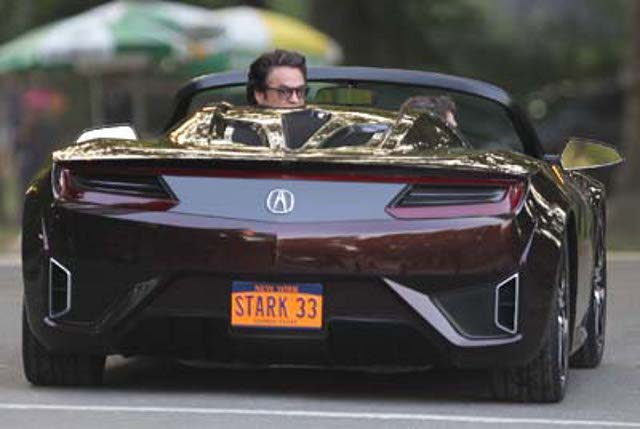 2012 The Avengers Acura NSX Roadster Concept, The Avengers 2012