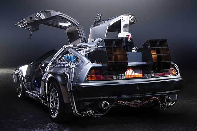 BTTF DeLorean, Time Machine