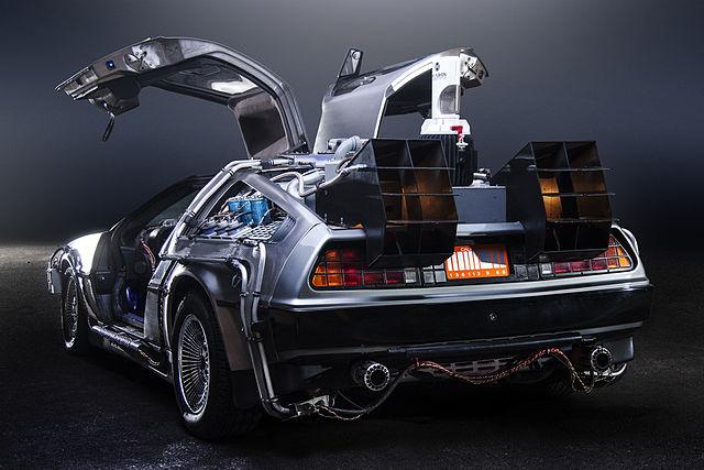 BTTF DeLorean, Time Machine