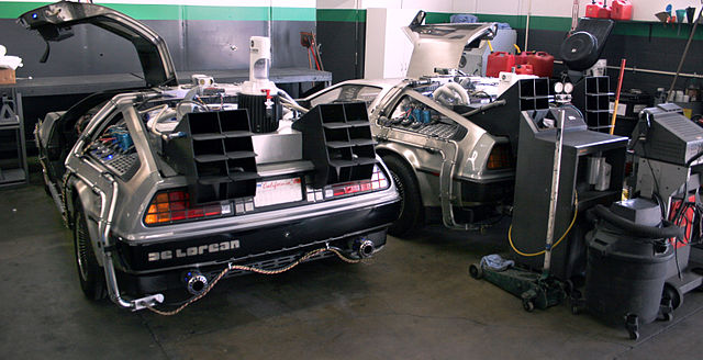 DeLorean Time Machine, replica