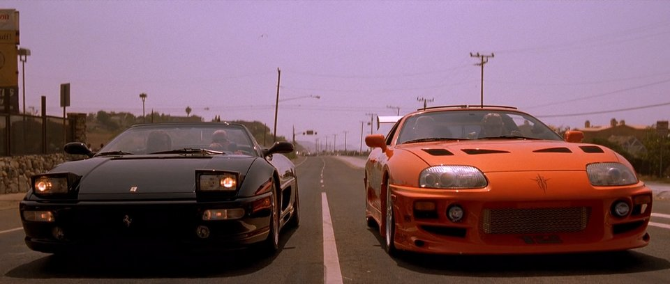 Ferrari F355 Spider, The Fast and the Furious 2001