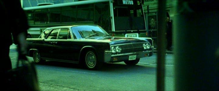 1963 Lincoln Continental, The Matrix Revolutions 2003