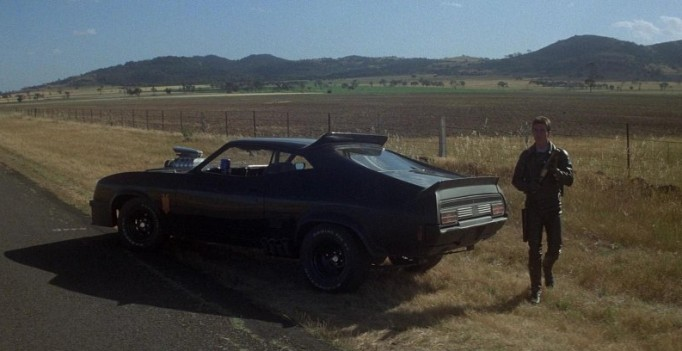 "1979 ""Mad Max""/ 1973 Ford Falcon XB Black Pursuit Special ..."