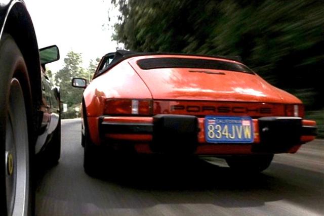 1983 Porsche 911 SC Cabrio, Against All Odds 1984