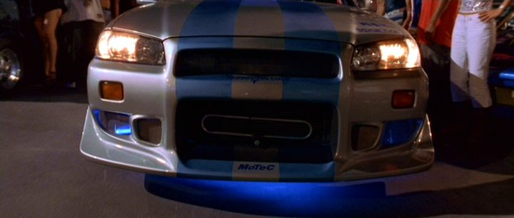 1999 Nissan Skyline GT R R34 Fast And Furious 2