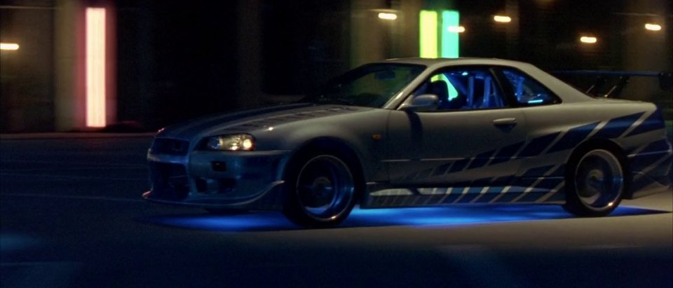 "Nissan Skyline 2016 >> 2003 ""2 Fast 2 Furious""/ 1999 Nissan Skyline GT-R R34 - Best Movie Cars"