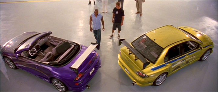 2001 Mitsubishi Eclipse Spyder Fast And Furious 2