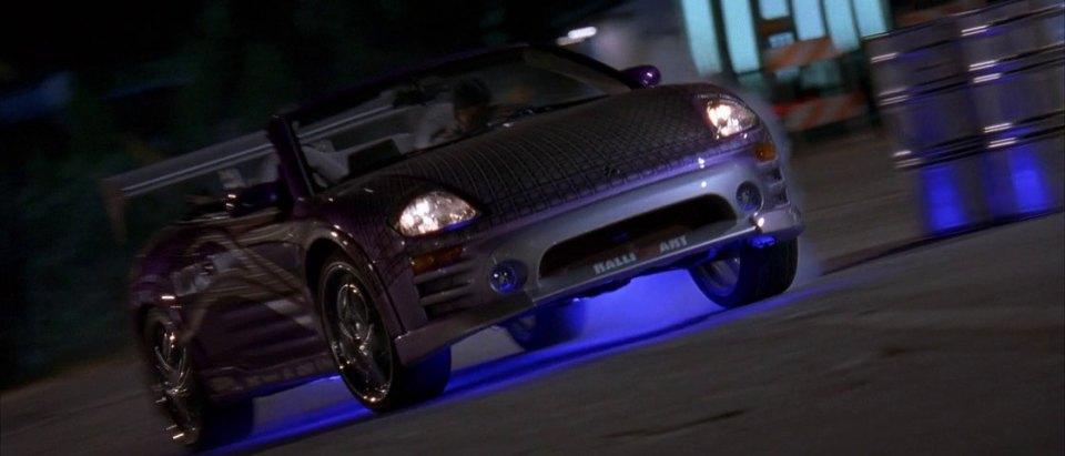 2001 Mitsubishi Eclipse Spyder GTS 3 G, 2 Fast 2 Furious 2003