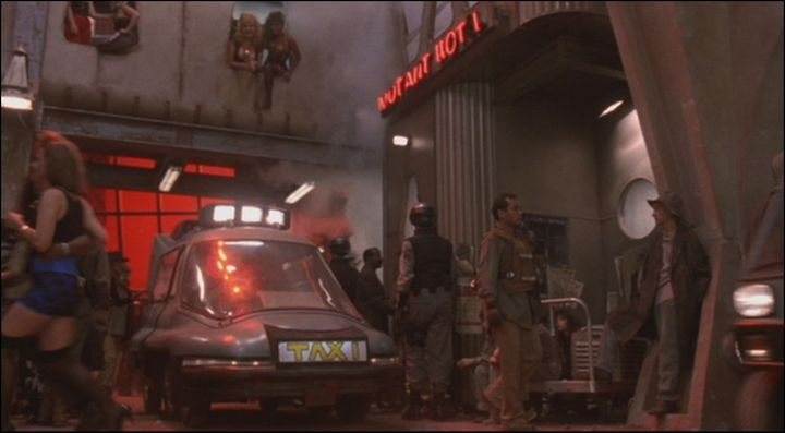 Made for Movie Taxi Cab, Total Recall 1990
