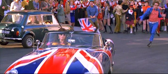 1961 Jaguar E-Type, Austin Powers