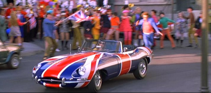 1961 Jaguar E-Type, Austin Powers International Man of Mystery 1997