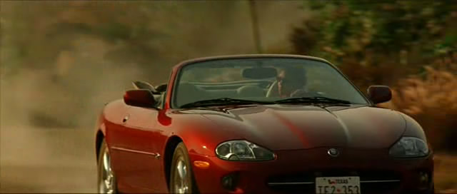 2000 Jaguar XK8 X100, Swordfish 2001