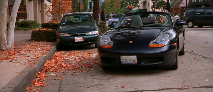 2000 Porsche Boxster 986, Legally Blonde 2001