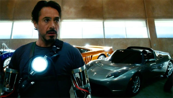 2008 Tesla Roadster, Iron Man 2008