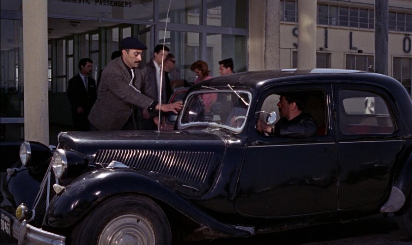 1948 Citroen 11 BL Traction, From Russia with Love 1963
