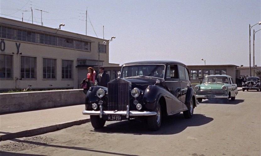 1958 Rolls-Royce Silver Wraith Limousine Park Ward LELW21, From Russia with Love 1963