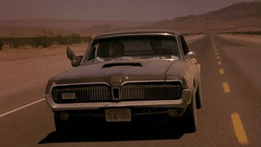 1996 From Dusk Till Dawn 1968 Mercury Cougar Xr 7