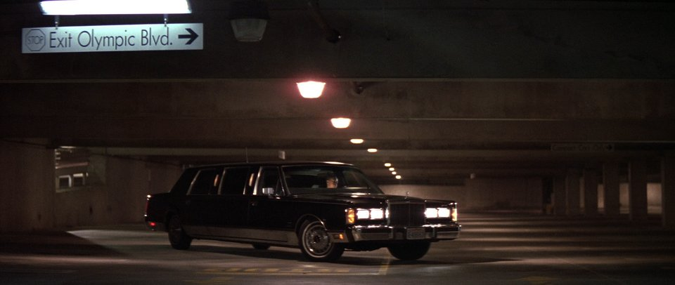 1986 Lincoln Town Car Stretched Limousine, Die Hard 1988