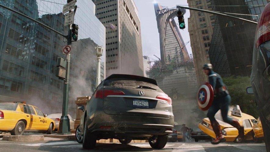 2013 Acura RDX, The Avengers 2012