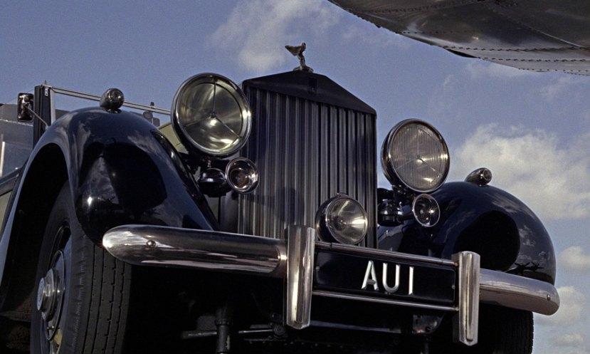 1937 Rolls-Royce Phantom III Barker Sedanca de Ville 3BU168, Goldfinger 1964