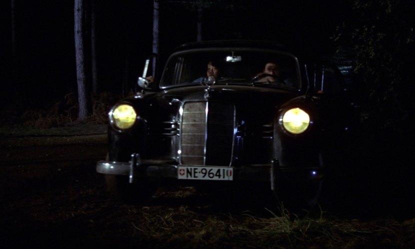 1956 Mercedes-Benz 220 S W180 010, Goldfinger 1964
