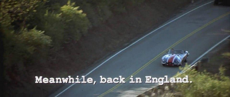 1961 Jaguar E-Type Open Two Seater Series I, Austin Powers The Spy Who Shagged Me