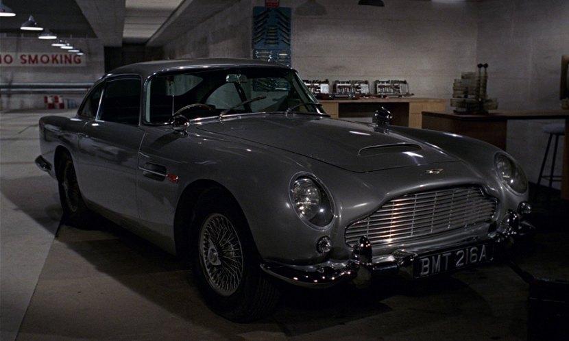 1963 Aston Martin DB5, Goldfinger 1964