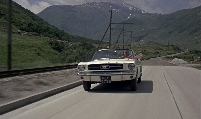 1964-5 Ford Mustang Convertible, Goldfinger 1964