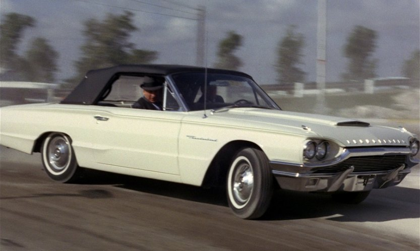 1964 Ford Thunderbird Convertible 76A, Goldfinger 1964
