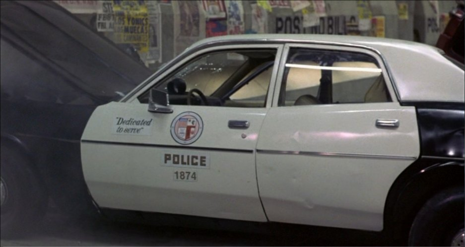 LAPD officers patrolled with this 1978 Plymouth Fury ... |Lapd 1977