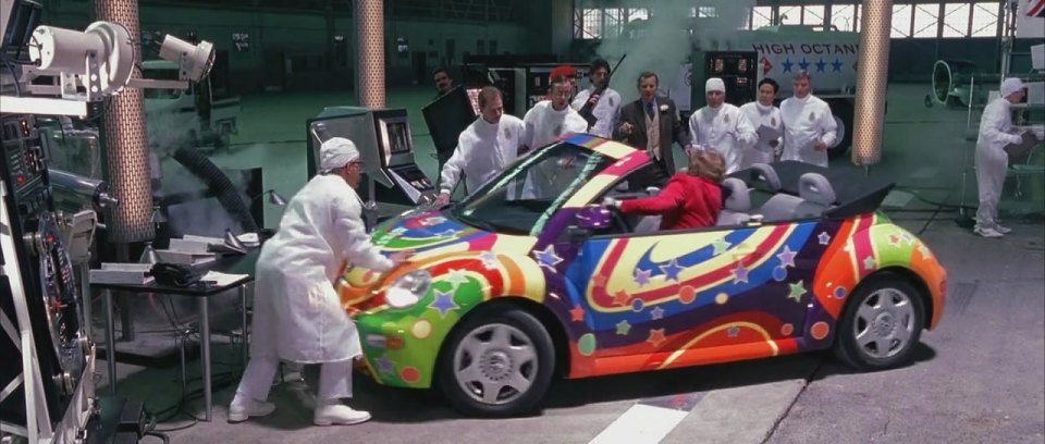 1999 Volkswagen New Beetle Convertible Typ 1Y, Austin Powers The Spy Who Shagged Me