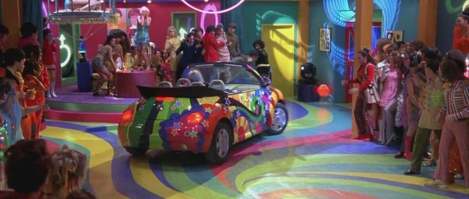 1999 Volkswagen New Beetle Convertible Typ 1Y, Austin Powers