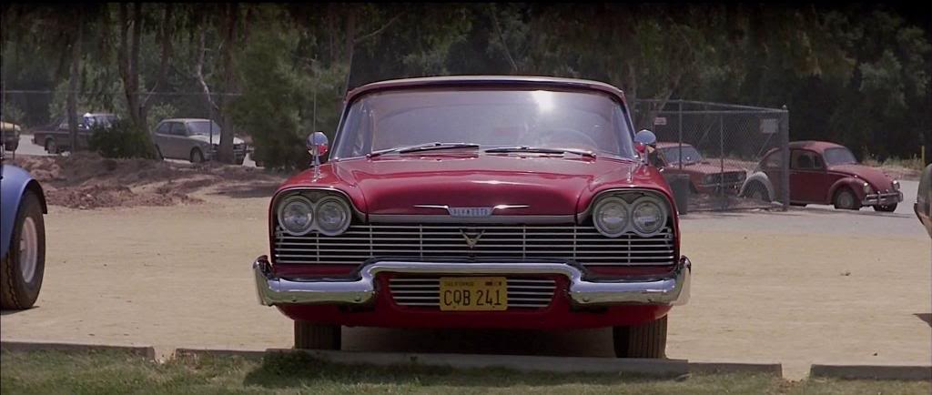 1958 Plymouth Belvedere as Fury, Christine 1983