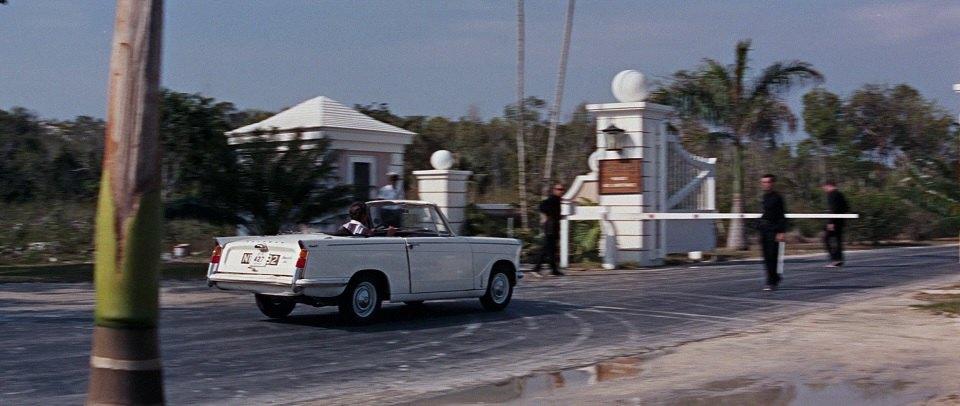 1964 Triumph Herald 1200 Convertible Export