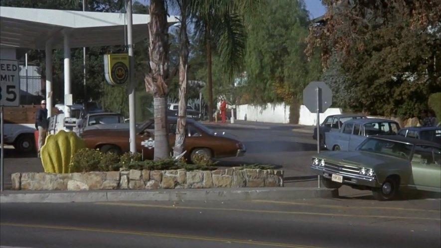 1969 Chevrolet Chevelle Malibu Sport Coupe