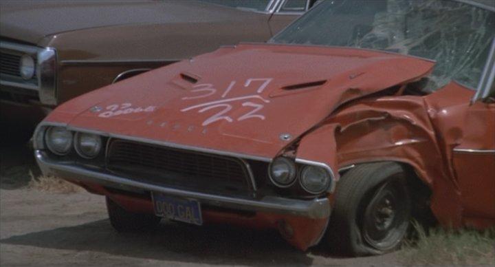 1970 Dodge Challenger, Gone in 60 Seconds original