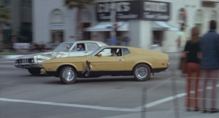 Picture Of Nissan Sports Car In Pulp Fiction