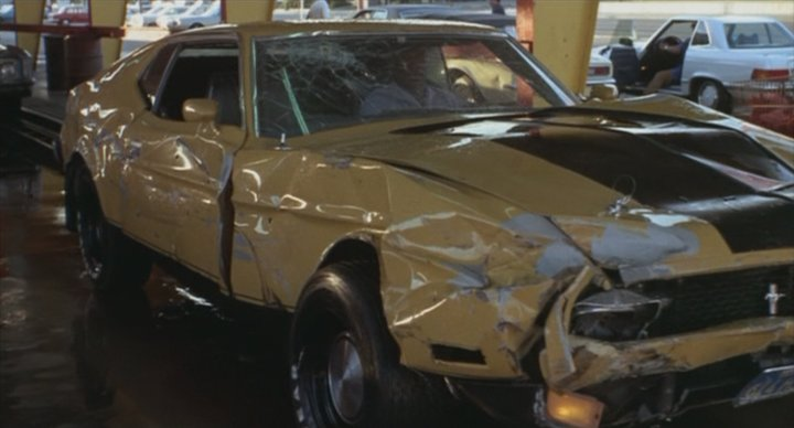 1971 Ford Mustang Sportsroof modified as 1973