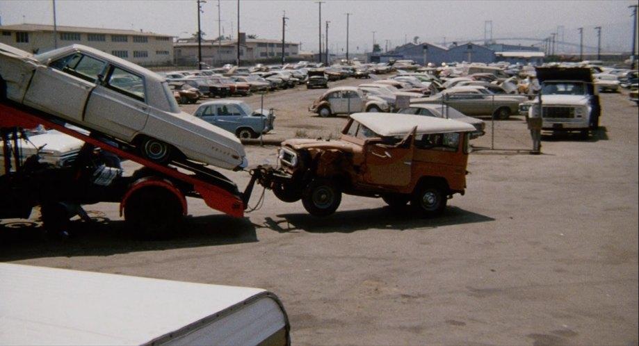 1971 Toyota Land Cruiser J40