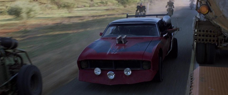 1972 Ford Falcon XA, Mad Max 2 + The Road Warrior