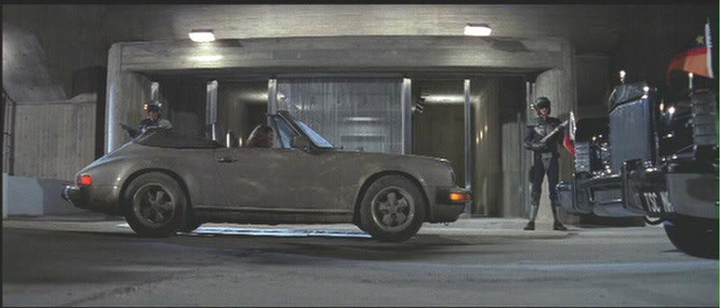1984 Porsche 911 Carrera Cabrio 3 Best Movie Cars