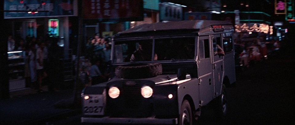1956 Land-Rover 107 Series I Station Wagon HK Police